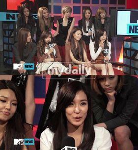 [뉴스] 태연, 美 MTV서 턱 괴고 무표정한 태도 논란