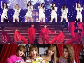 [뉴스] 소녀시대, 2PM, 2NE1 일본 MTV 시상식에서 동반 수상, 한류위력과시