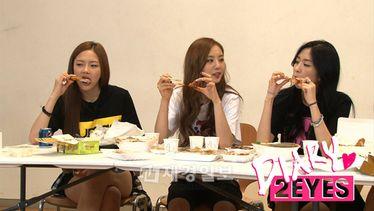"""[뉴스] SBS MTV '투아이즈 다이어리' 2EYES """"이것이 먹방이다!"""" 폭풍식욕 자랑"""